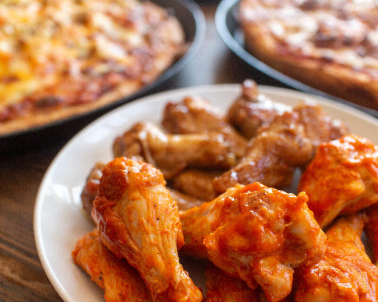 Hot House Pizza Chicken Wings
